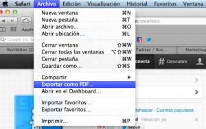crear un pdf twitter
